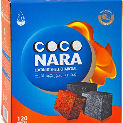 CocoNara Natural Coals 120 Piece Box