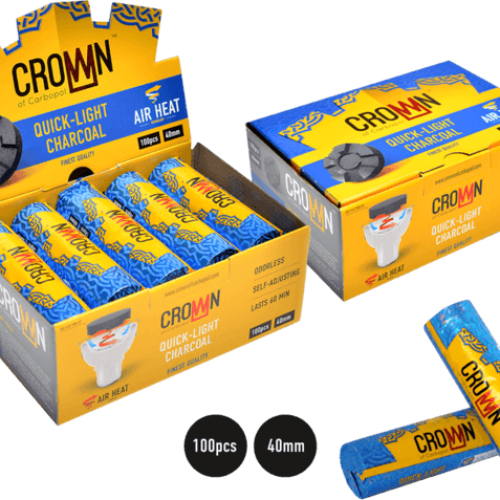 Crown Quick-Light Coal Box